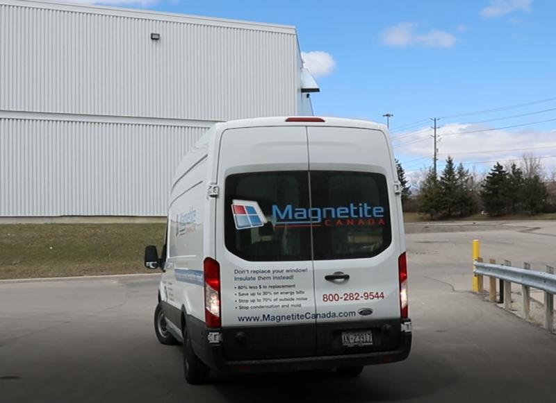 Magnetite Service Van