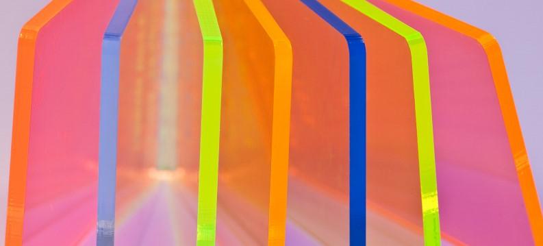 floresent plexiglass